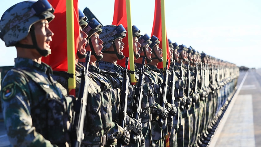 China improves work on preferential treatment for military personnel