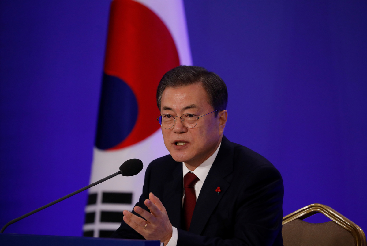 China's role to be significant for Korean Peninsula's denuclearization: ROK president