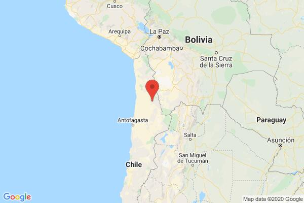 5.1-magnitude quake hits 101km NE of Calama, Chile: USGS