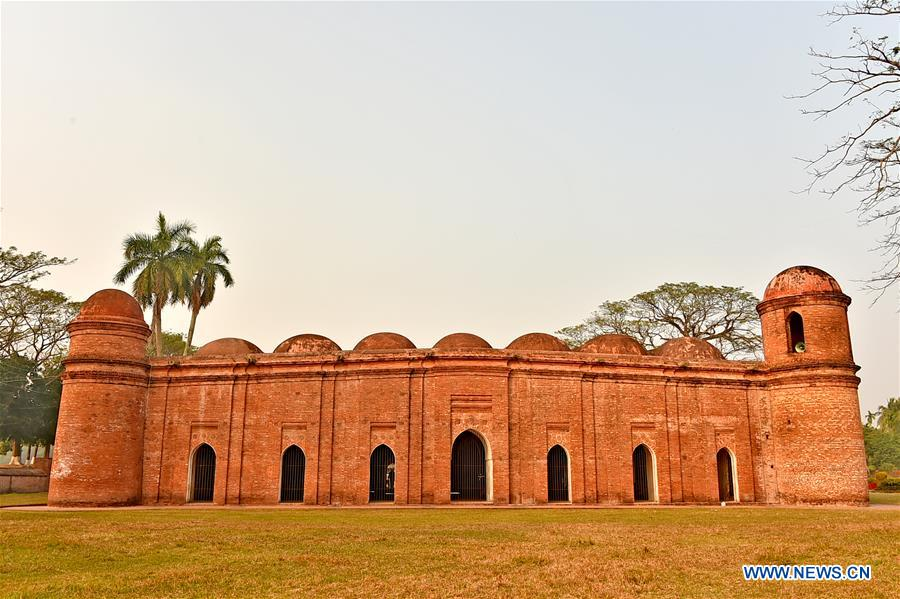 Sixty Dome Mosque in Bagerhat, Bangladesh