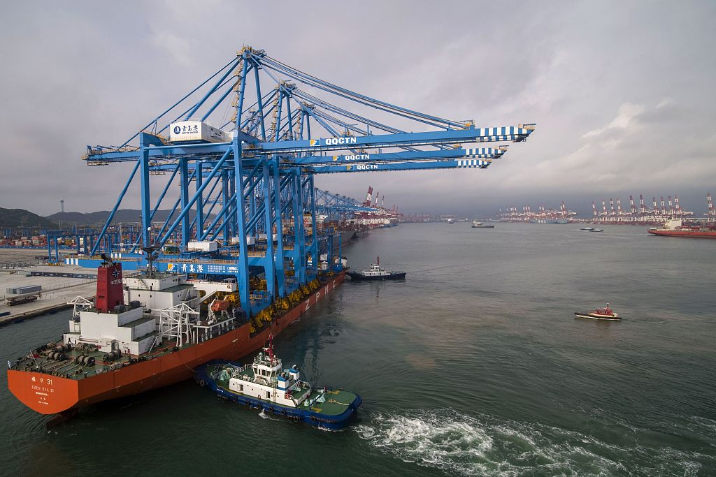 China's foreign trade up 3.4 pct in 2019