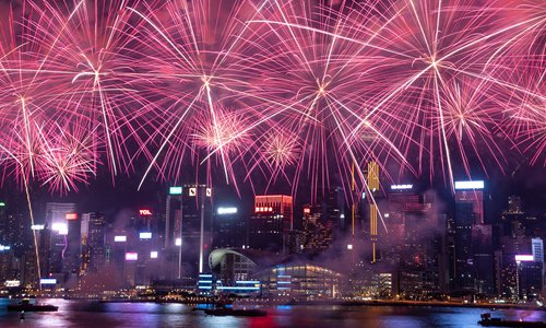 Hong Kong calls off Lunar New Year fireworks display amid unrest