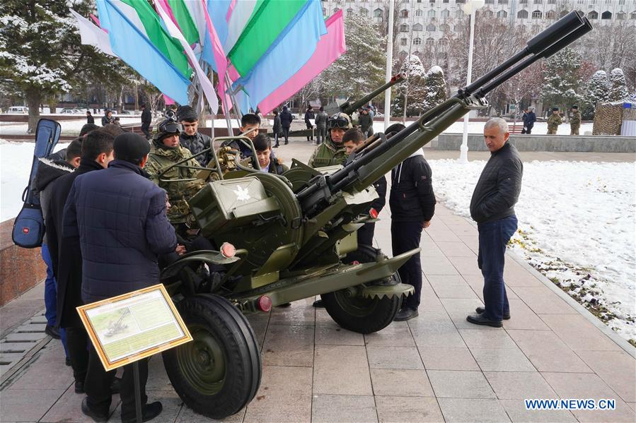Defender of Motherland Day marked in Tashkent, Uzbekistan