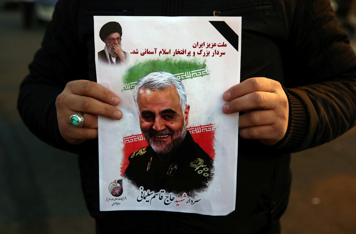 Iran judiciary says to sue US for Soleimani's assassination
