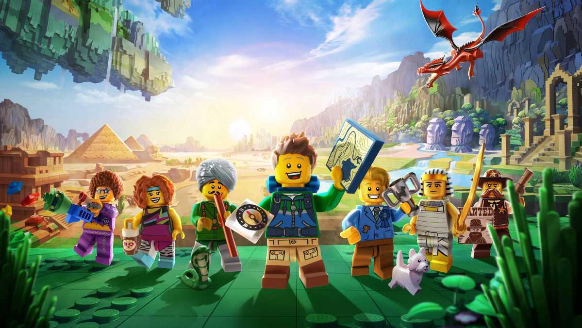 Lego extends partnership with Tencent