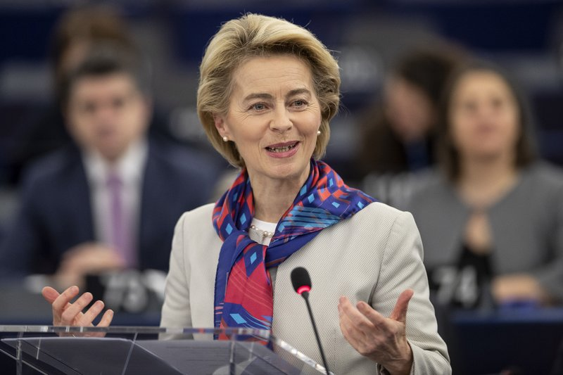 EU lays out 1 trillion-euro plan to support Green Deal
