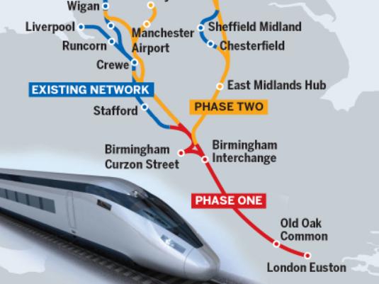 UK's high-speed rail link could threaten wildlife