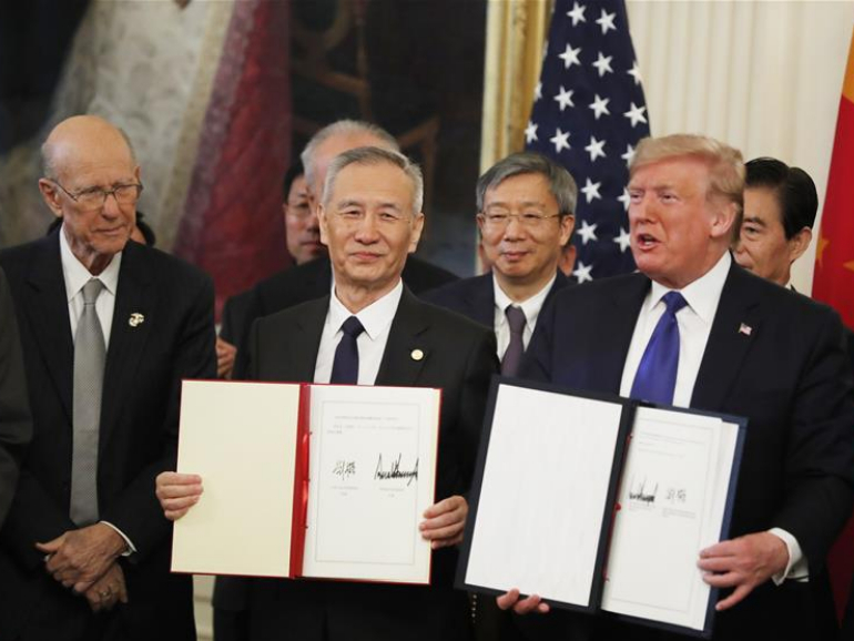 China releases phase one trade agreement full text