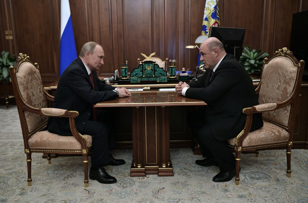 Russian parliament to review Putin PM pick after shock overhaul
