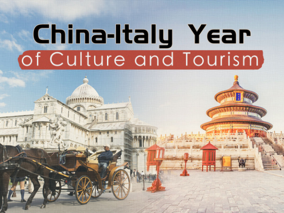 China-Italy year of culture, tourism to kick off with various events