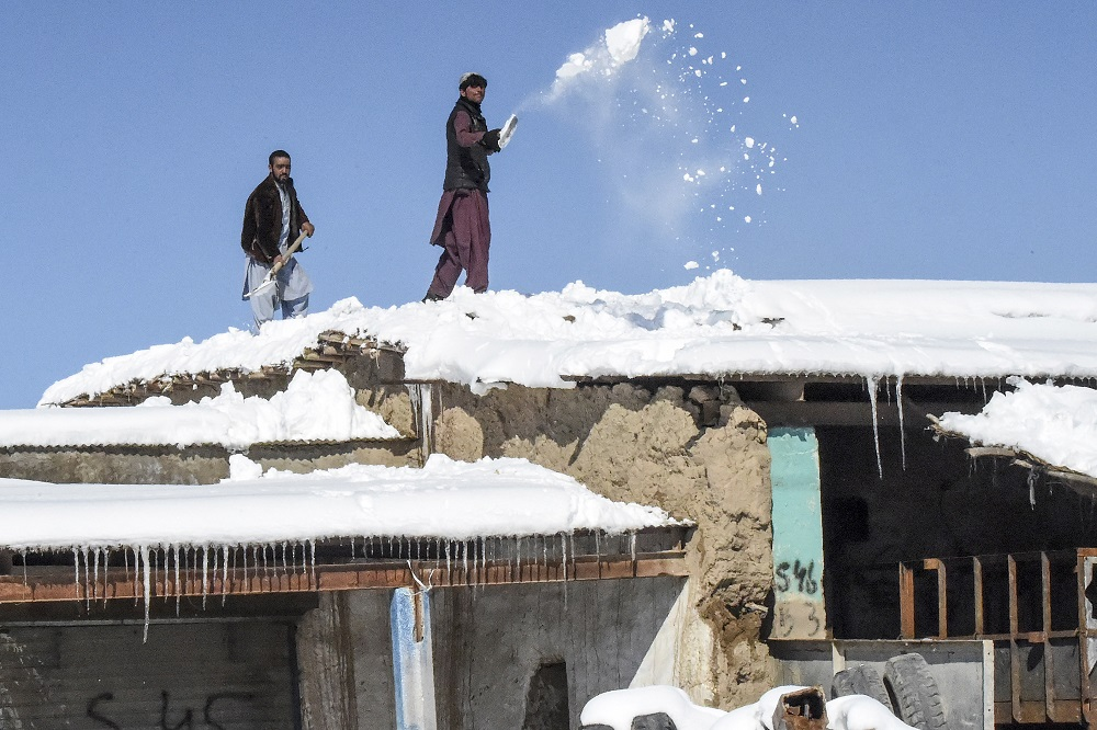 Wild winter weather claims 160 lives in Afghanistan, Pakistan