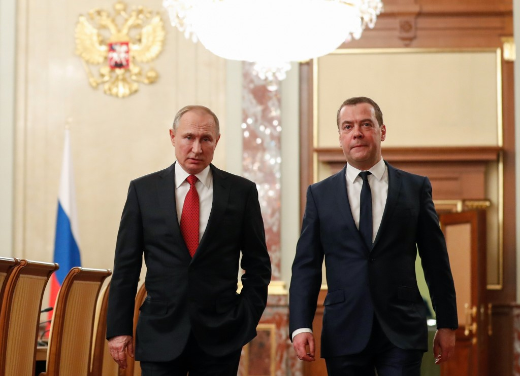 Putin appoints Medvedev as deputy chairman of Russian Security Council