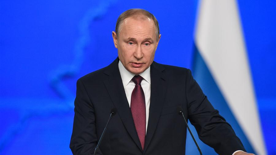 Putin's federal address focuses on Russian people and their future