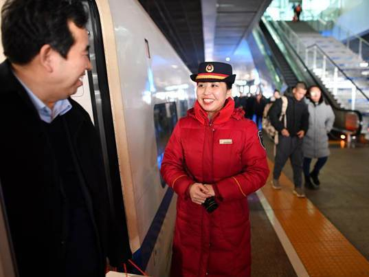China changes, improves because of Spring Festival travel rush