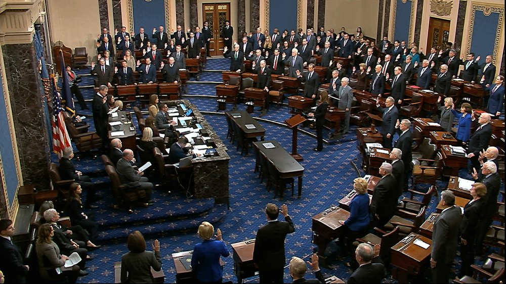 US Senate opened the impeachment trial of President Donald Trump