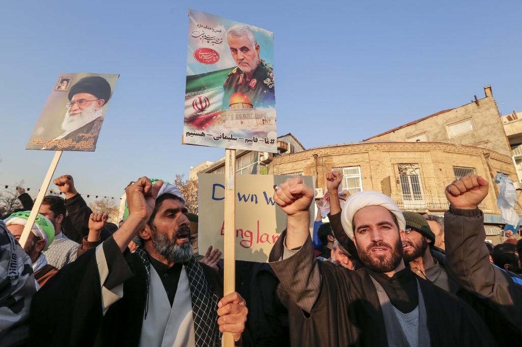 Iran's top leader says US assassination of Soleimani 'cowardice' act