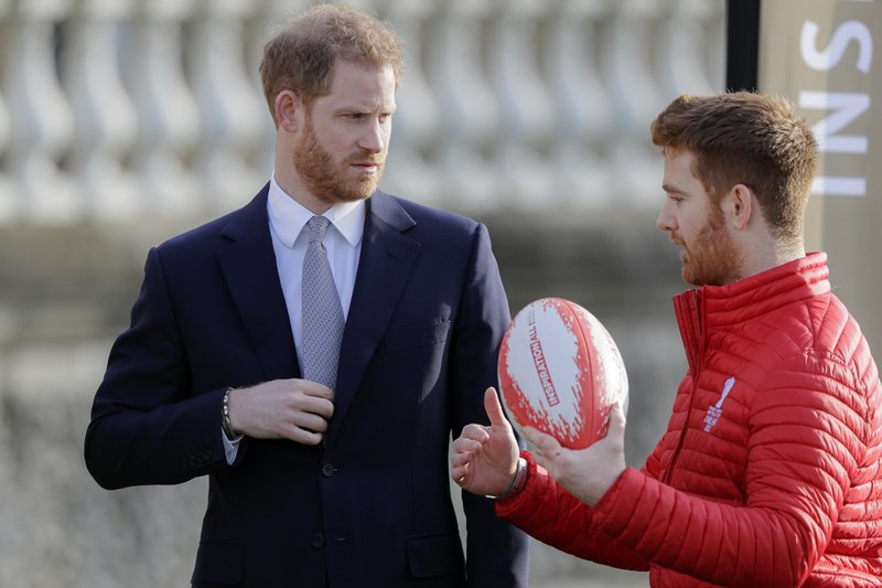 Prince Harry takes on first duties since royal crisis talks