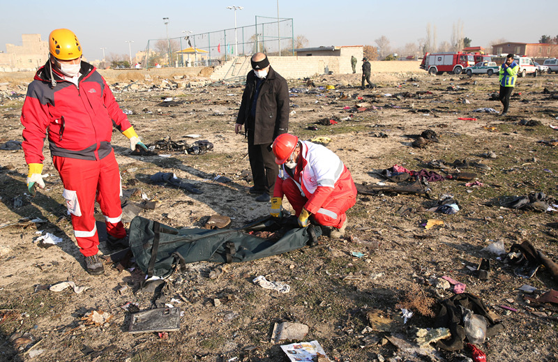 Iran says cooperates with countries involved in Ukraine crashed plane