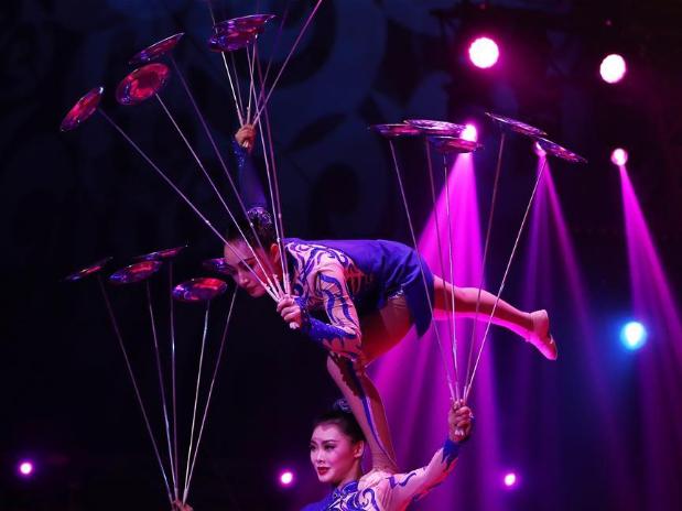 44th Monte-Carlo Int'l Circus Festival kicks off in Monaco