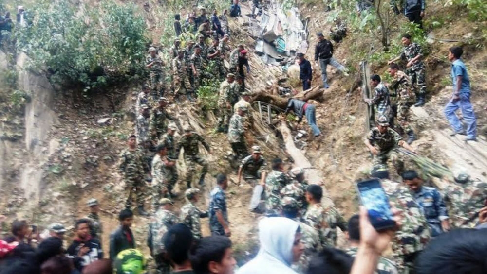 Over 20 Chinese tourists injured in bus accident in central Nepal