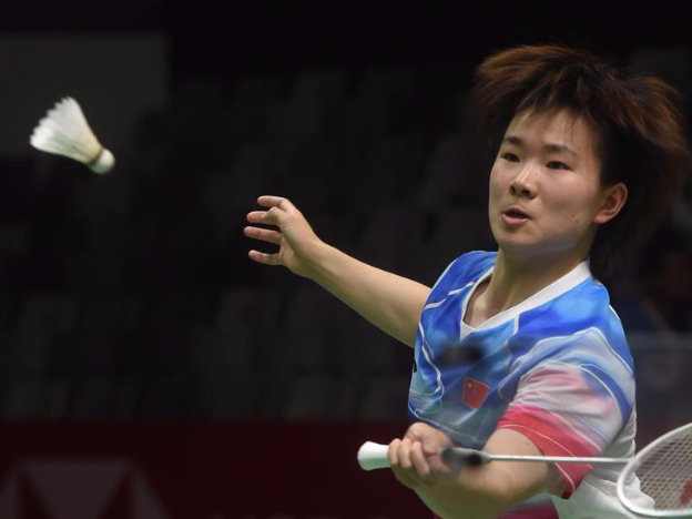 Women's singles semifinal match at Indonesia Masters 2020