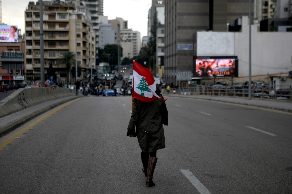 Lebanese divided over results of nationwide protests
