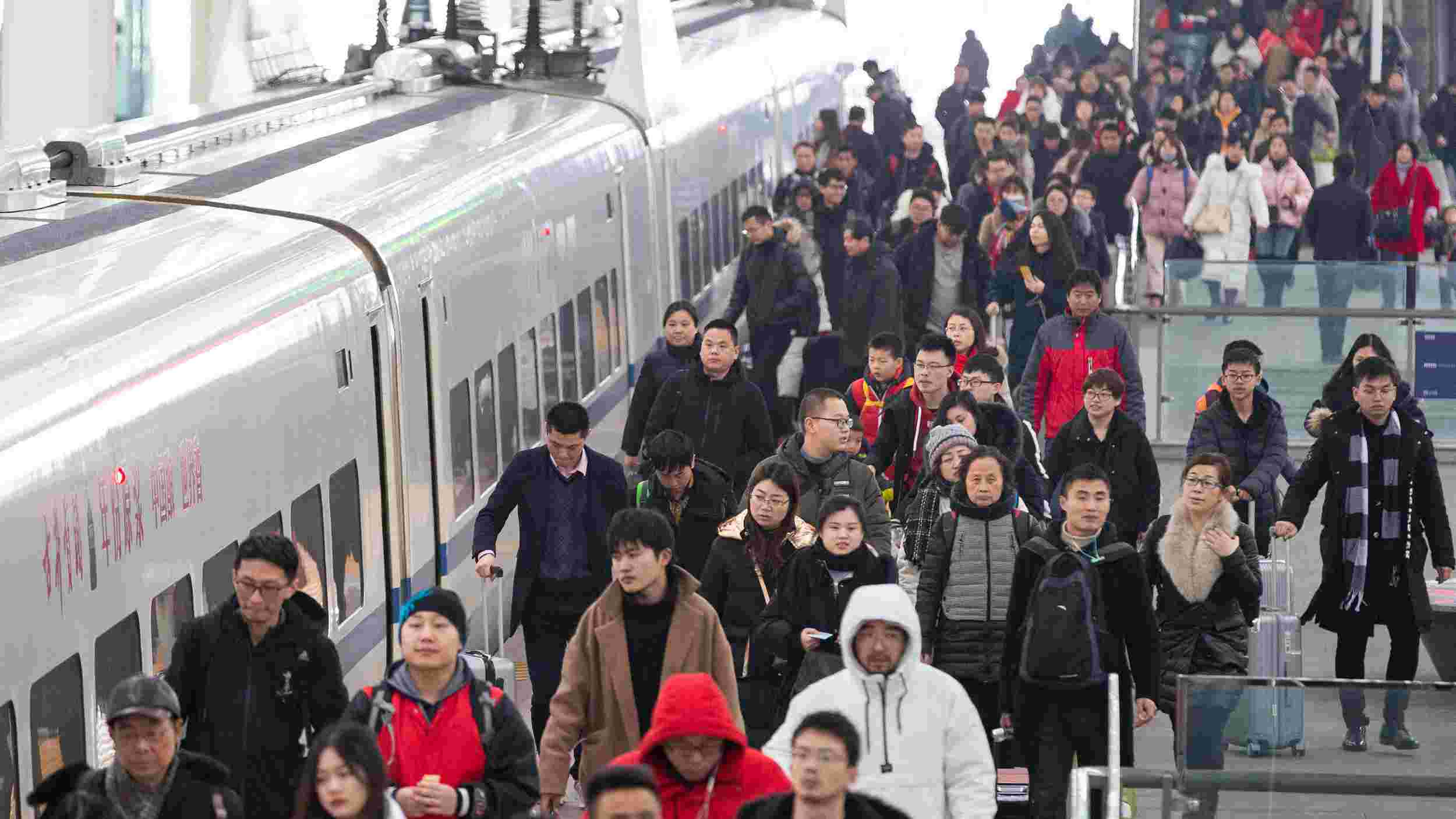 Railway trips exceed 100 mln since Spring Festival travel rush