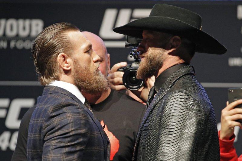 Calmer McGregor: Irish star returns vs Cerrone at UFC 246