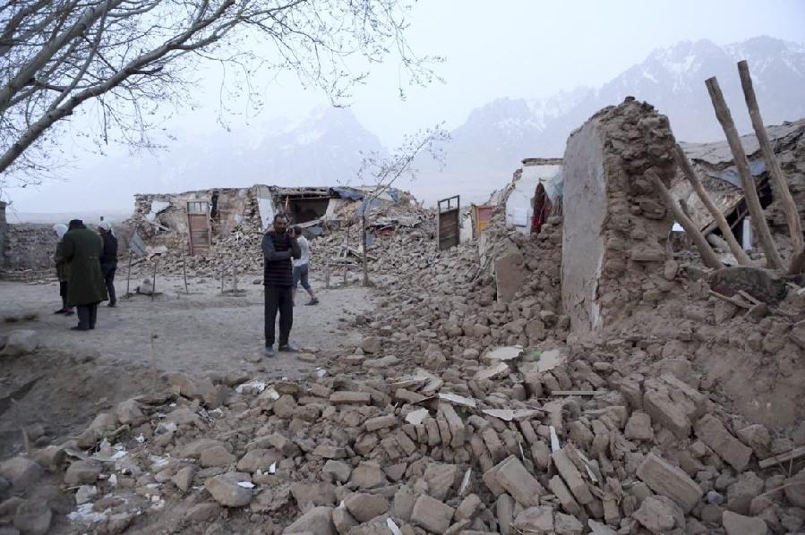 3 injured in 6.4-magnitude earthquake in Xinjiang