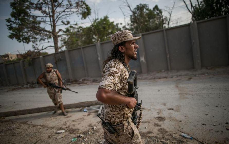 2,400 Turkey-backed Syrian rebel fighters reach Libya: monitor