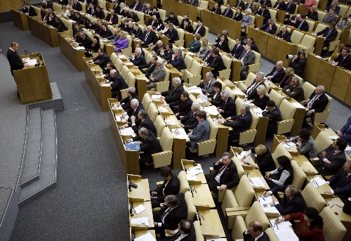 Putin introduces draft law on constitutional amendments to State Duma