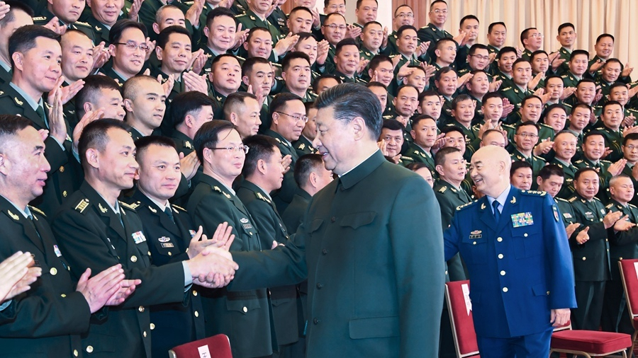 Xi Jinping urges military advance to reach defense goals of 2020