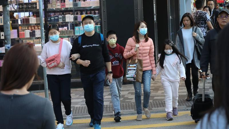 Demand for face masks surges in China amid outbreak