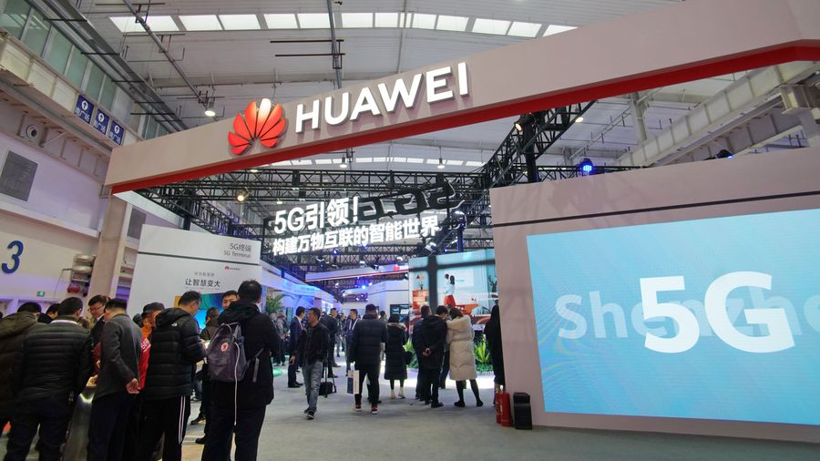 Huawei confident in defending against US sanctions in 2020, founder says in Davos