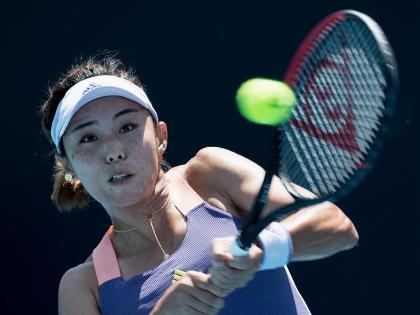 Wang Qiang progresses at Australian open, Peng Shuai felled by cramp