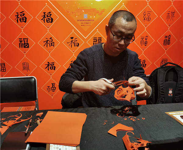 Chinese New Year folk art exhibition opens in Beijing