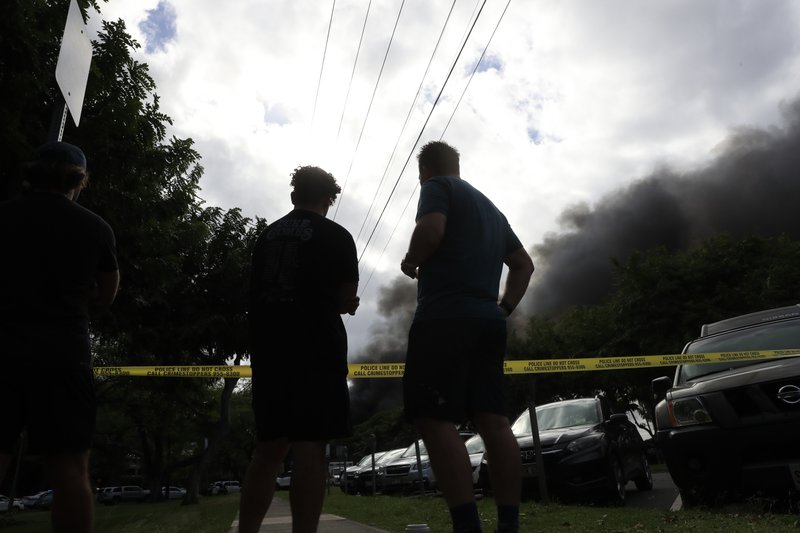 Lawyer: Suspect in Hawaii police deaths was 'out of control'
