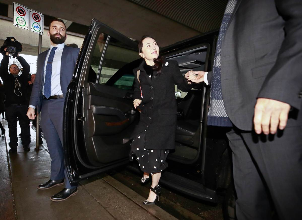 Canadian law central to Huawei CFO case