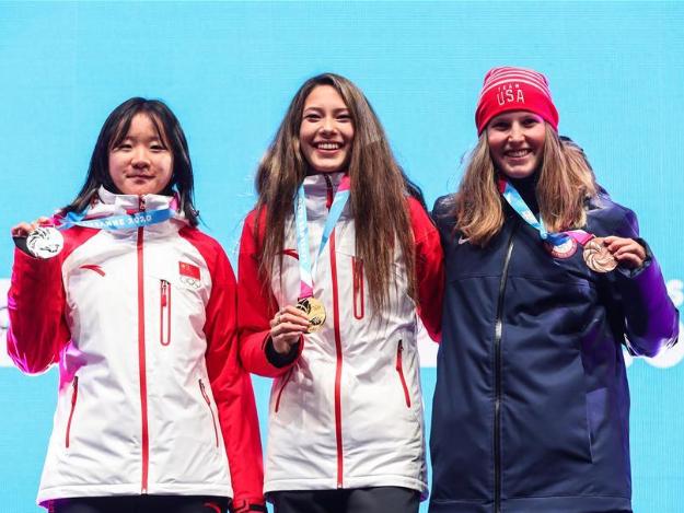 China's Gu Ailing claims title of women's freeski halfpipe at YOG