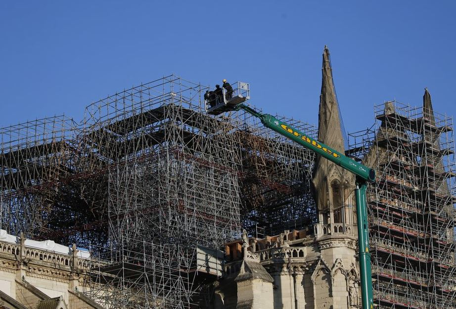 Notre Dame renovation chief says rebuild won't be rushed