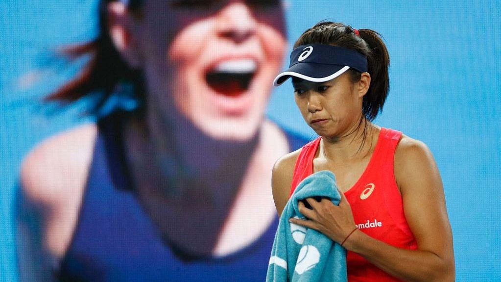 China's Zhang Shuai knocked out by Sofia Kenin at Australian Open