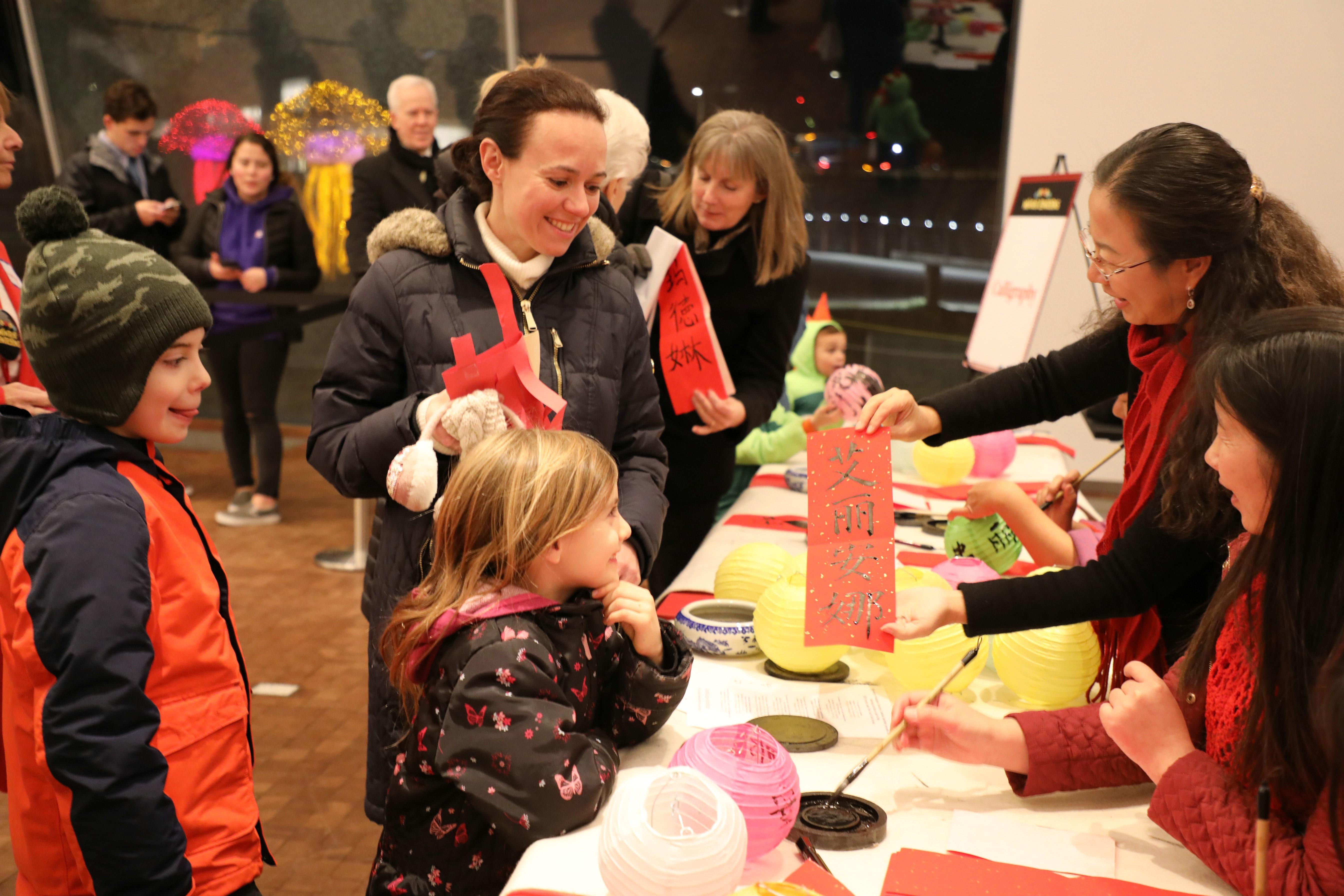 Washington lights up winter lanterns to celebrate Chinese New Year