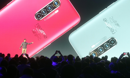 Chinese smartphone makers customize products to India market