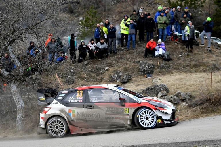 Champion Tanak 'fine' after spectacular Monte Carlo crash