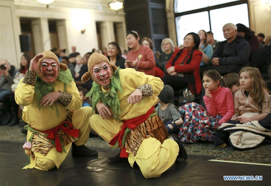 Chinese New Year celebrations held in downtown Chicago