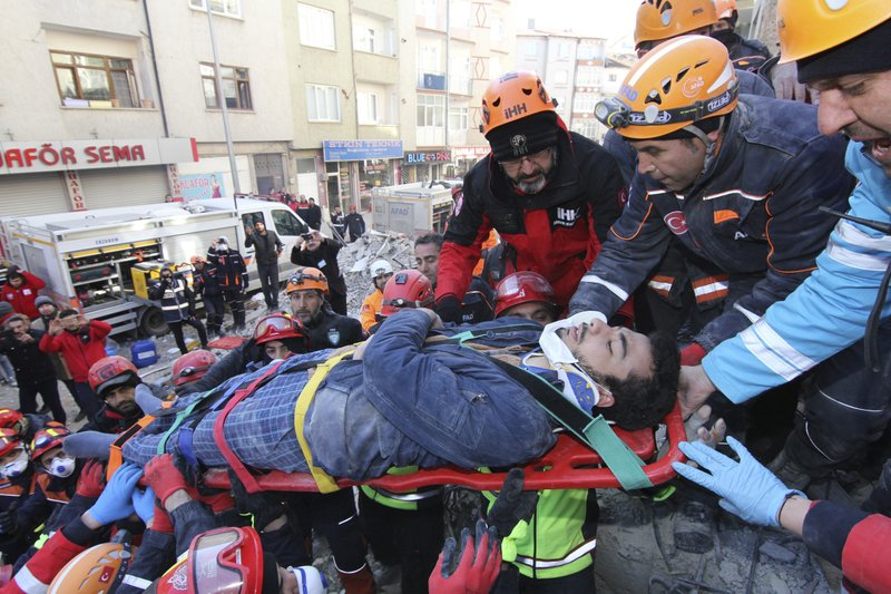 Death toll stands at 29 from Turkey earthquake