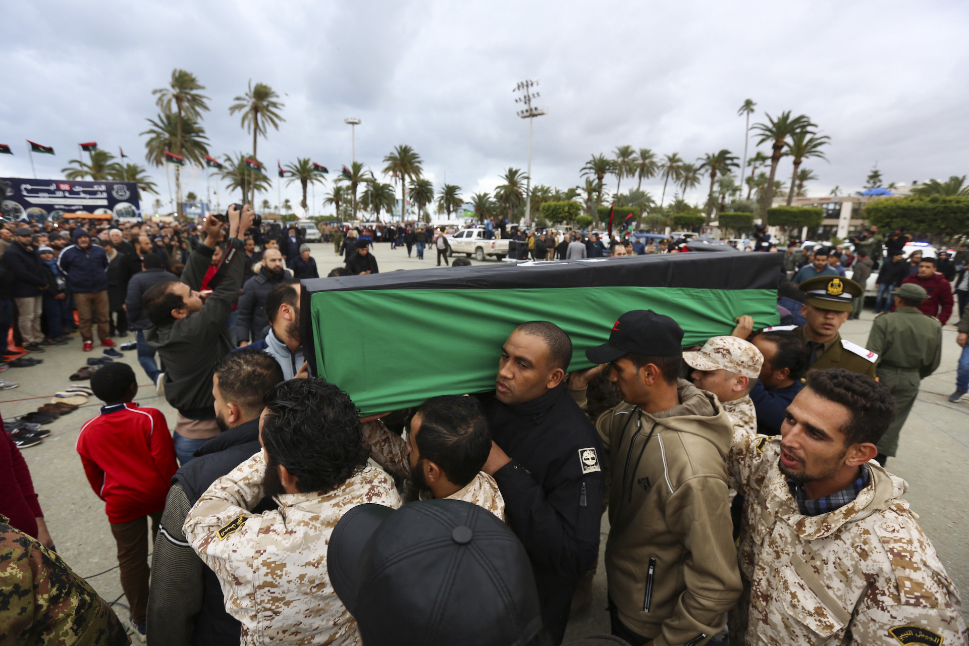UN warns countries have breached arms embargo agreed at Libya summit
