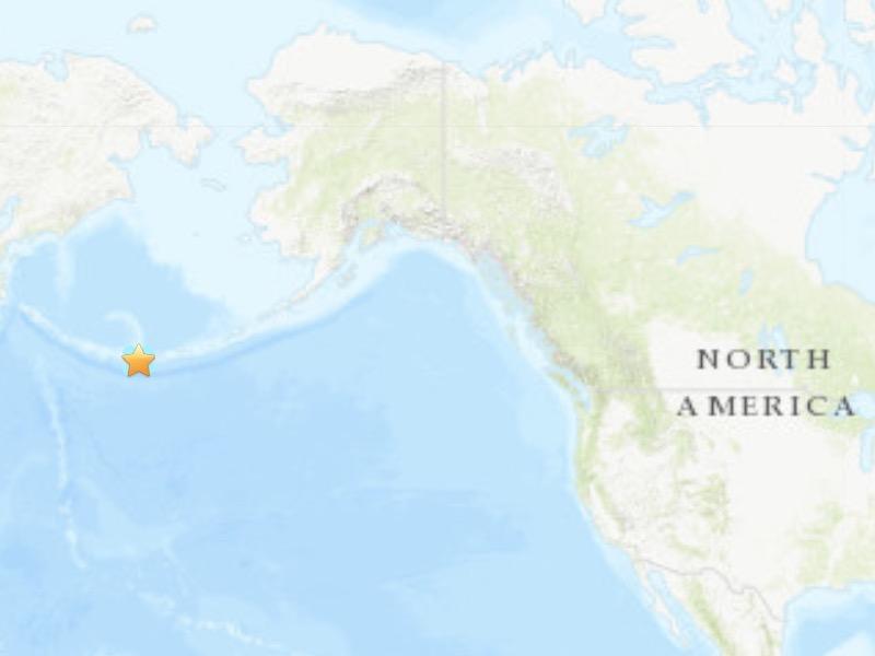 5.6-magnitude quake hits 65 km SW of Amatignak Island, Alaska -- USGS