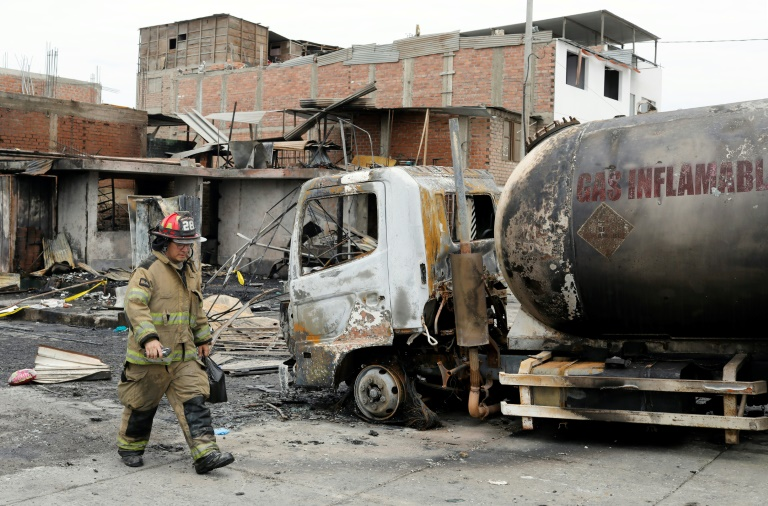 Death toll in Peru tanker explosion rises to 14: ministry