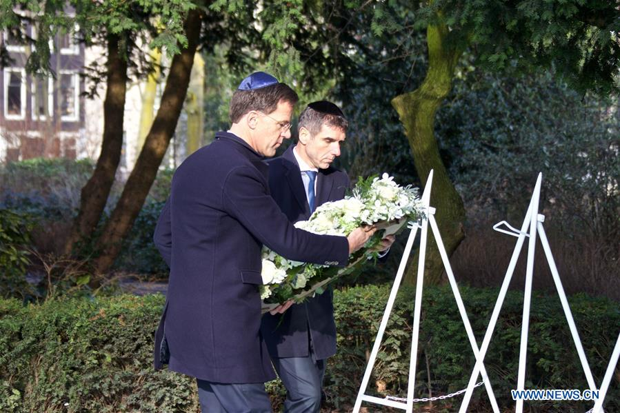 Dutch PM lays wreath on occasion of National Holocaust Remembrance Day